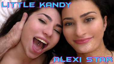 Little Kandy and Alexi Star - Wunf 238